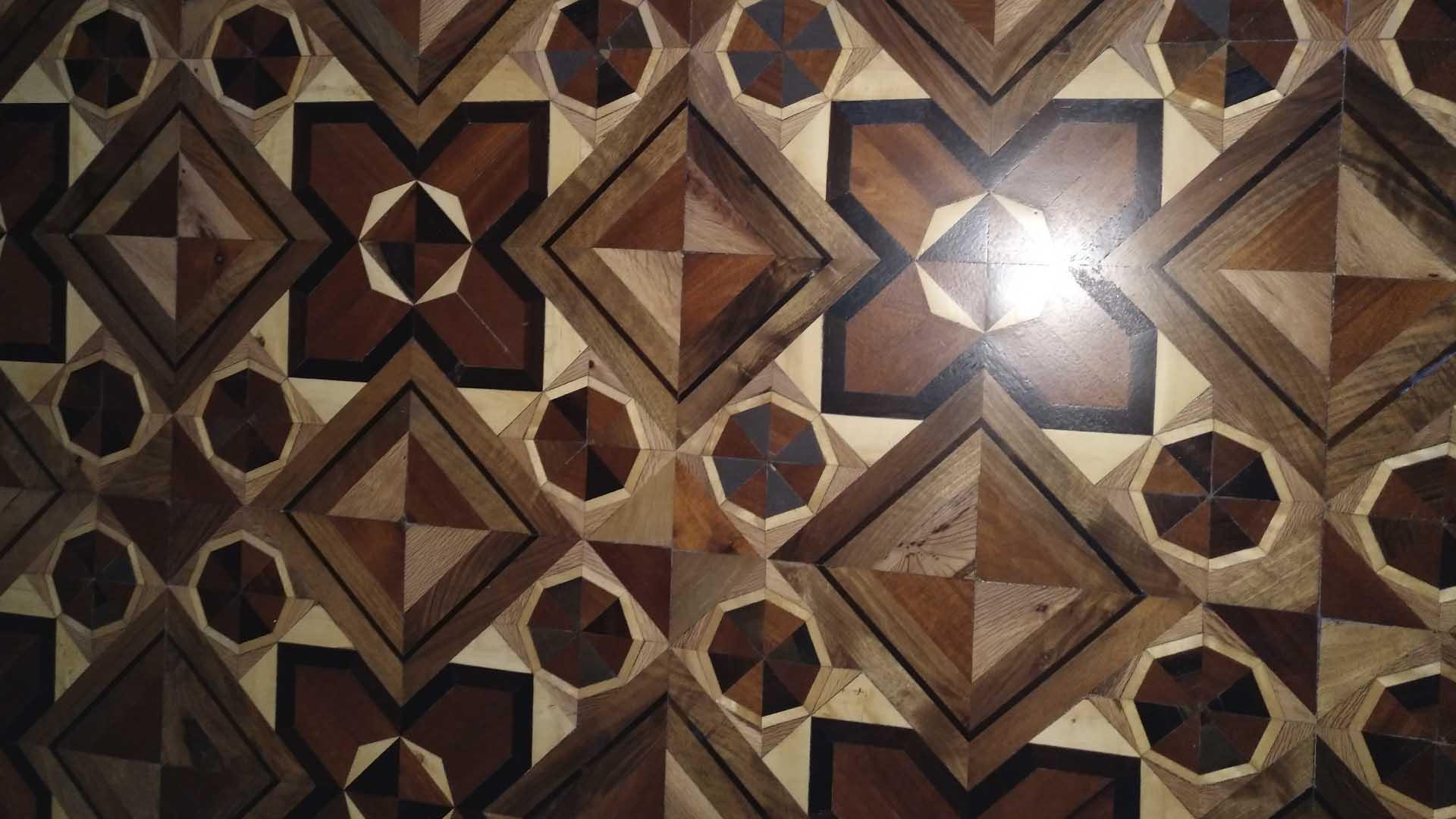 Fajeado suelos geométricos - Tarimas Naturales